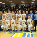 The Triton Trojan boys basketball team claimed the Triton Regional title by beating Pioneer, 53-41, Saturday night. Triton will face Lafayette Central Catholic next Saturday. (Photos by Mike Deak)