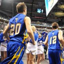 The Trojans enter play at Banker's Life Fieldhouse.