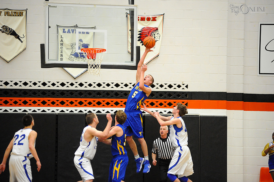 Triton's Clay Yeo has been head and shoulders above the competition this postseason. (Photo by Mike Deak)