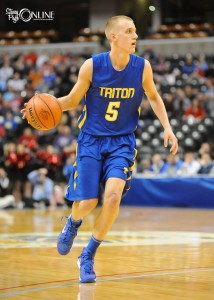 Clay Yeo finishes his Triton career as the highest scorer in Marshall County history.