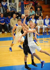 Clay Yeo has helped lead Triton to the Class 1-A Semi-state, to be played 4 p.m. Saturday against Lafayette Central Catholic at Lafayette Jefferson High School. (Photo by Mike Deak)