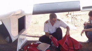 Jerry Krause, pictured here during a missions operation in Africa.