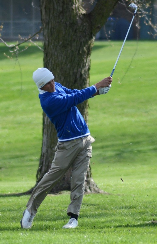 Triton star Quentyn Carpenter earned medalist honors with a round of 70 Wednesday.