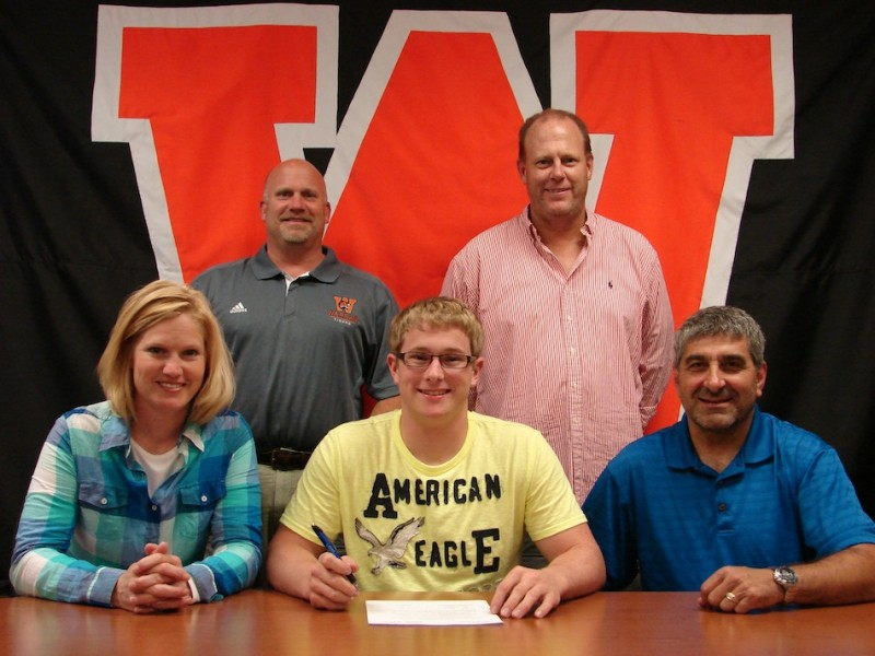Warsaw senior Zach Shepler is headed to play football for the University of Indianapolis (Photo provided)