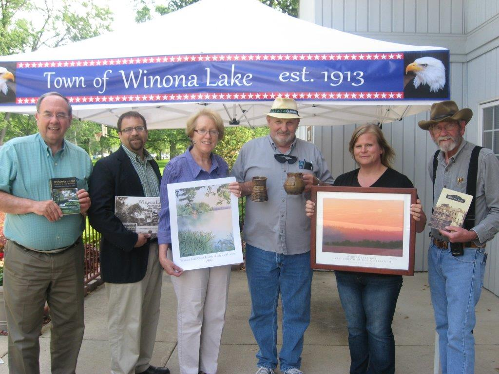 Members shown include (left to right): Terry White, Jared Burkholder, Ellen Swaim, Pete OConnell, Holly Hummitch, and Al Disbro. (Photo by Sharon White)