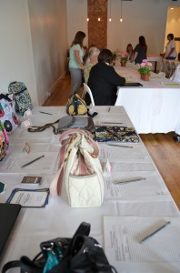 The first annual Success is in the Bag handbag auction and luncheon for Combined Community Services was held Saturday in Warsaw.