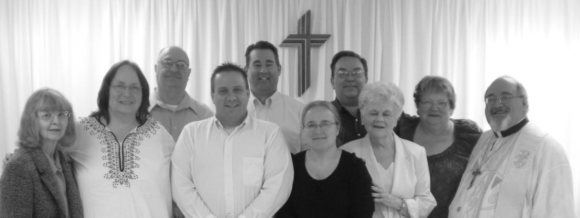 St. Peter's Lutheran Church of Warsaw installed newly elected officers and board chairmen during the April 21 worship service.
