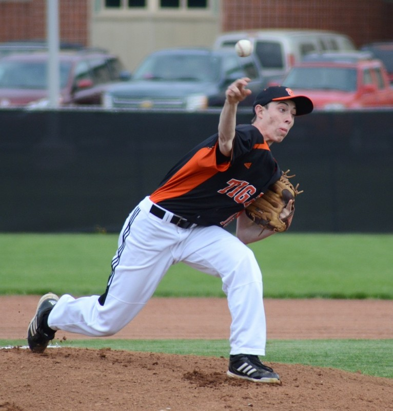 Warsaw's Kevin Hawley was outstanding in a 3-2 NLC win at Concord Monday night (File photo by Jim Harris)