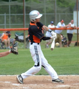 Justin Oberlin had two hits for Warsaw in the consolation game versus DeKalb.