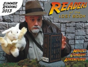 Join magician Jack Strauss and his faithful sidekick, Abby Cadabra, for high adventure as they quest for the long lost secrets of the Book of Incredibly Ancient Magic at the North Webster Public Library's big summer reading kick-Off event on Wednesday, June 5, at 10:30 a.m. All ages are welcome.