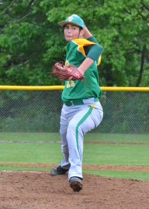 Valley starter Clay Adamson delivers Thursday.