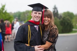 Master of Divinity graduate Brent T. Mencarelli with wife Amy Mencarelli.  (photo provided)