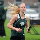 Wawasee's Courtney Linnemeier was a title in the 1600-meter run at Saturday's Goshen Relays.