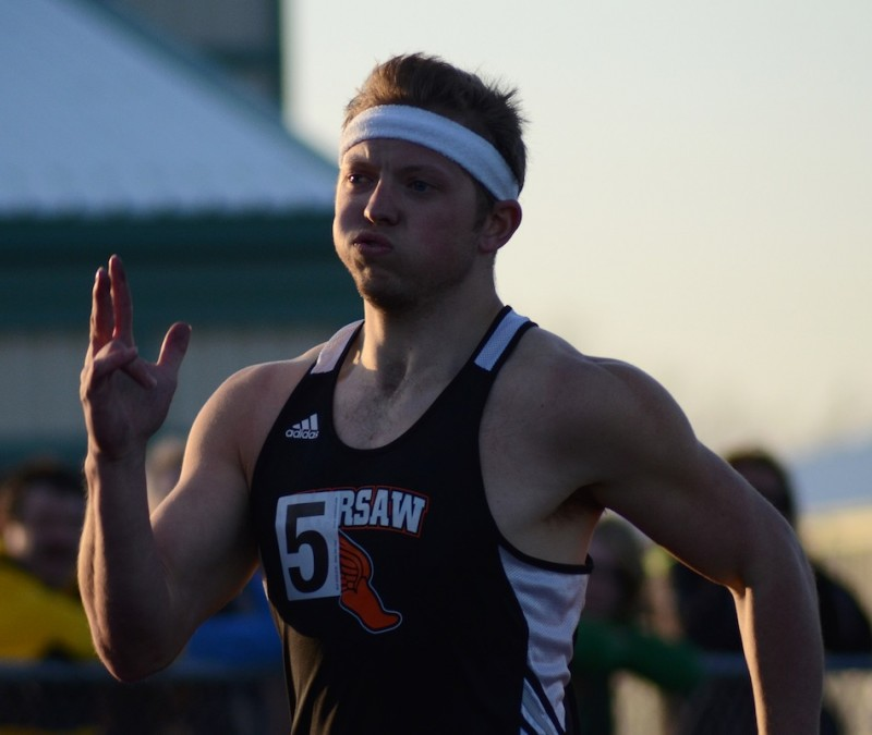 Senior standout Wyatt Jones will be a key man in the relays for the Tigers in the regional.