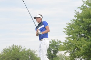 Quentyn Carpenter of Triton shot 73 Wednesday in the final round of the State Finals. The Ball State bound standout earned All-State honors for his stellar senior season for the Trojans.