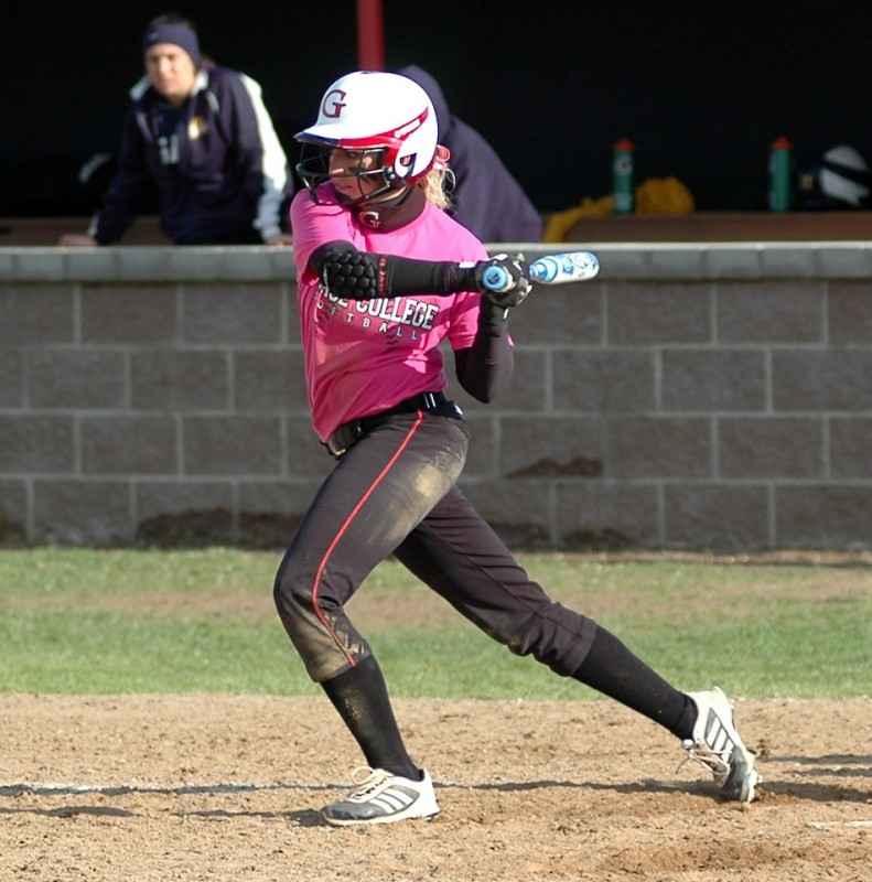 Grace College sophomore softball standout Brooke Shell earned All-American honors from the NAIA (Photo provided by Grace College Sports Information Department)
