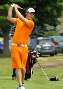 Warsaw's Evan Cultice came up huge with a 75.