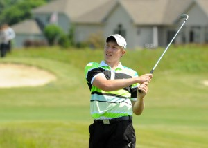 Wawasee's Jeffrey Moore concluded his freshman campaign with an 80.