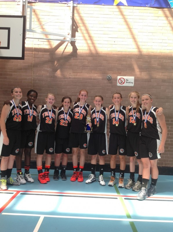 The Class of 2017 Lady Tiger basketball team won a tournament in Northern Ireland. The squad is currently on a trip to Ireland and Scotland (Photo provided by Rick Rivera)
