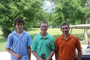 Pictured are Junior Tour participants Cameron Brill, Gregory Music, Kole Komdeur. (Photo provided)