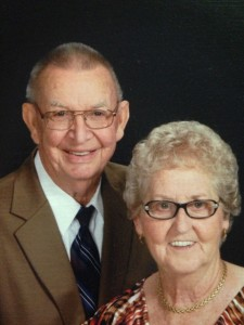 Katie and Sol's 60 Anniversary Pic