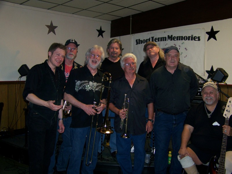Short Term Memories and the North Webster American Legion invite everyone to attend the  Local Wounded Warrior Jam Session beginning at noon, Saturday, at the legion.  They will play until they can't play anymore. Band members from the left are, front row, Joe James, Bernie Wilson, Scott Crothers, Conrad Keller and Kurt Kruger. In the back are Ralph Luce, Gregg Carpenter and John Hinsdale. (Photo provided)