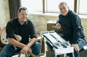 Vince Gill, left, and Paul Franklin (Photo by Jim Wright)