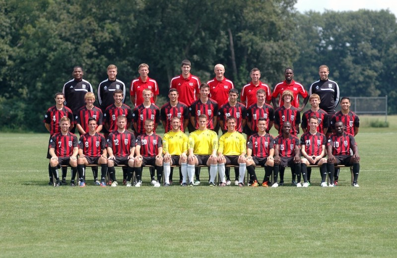 The Grace College men's soccer team expects big things this fall (Photo provided by Grace College Sports Information Department)