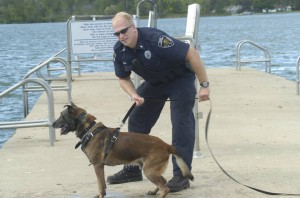 Warsaw Police Officer Joel Beam and his K9 partner, Buddy, will be among those providing demonstrations at Play it Safe Family Safety Day. (Photo provided)