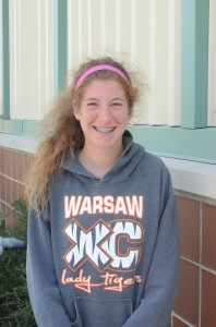 Madeline Hooks plans to have a strong senior season for the Warsaw girls cross country team.