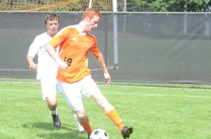 Senior Stephen Kolbe turned in a strong effort Saturday for Warsaw.