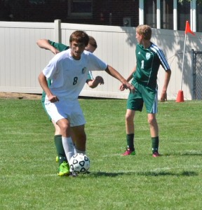 Nathaniel Rich of Concord dominated the field all day, scoring four goals.