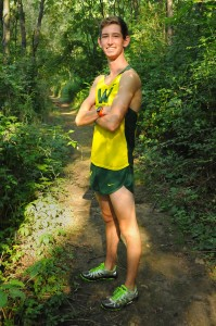 Wawasee senior Adam Doll is looking to steer clear of obstacles on the ol' dusty trail this fall. (Photo by Mike Deak)
