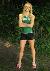 Wawasee junior Courtney Linnemeier looks to shine on the cross country circuit this fall. (Photo by Mike Deak)