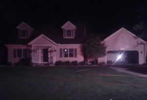 A fire at the home of Jeff and Peggy Guyas, Syracuse, is currently under investigation. (Photo by Deb Patterson)