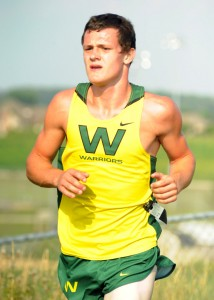Wawasee's Zack Cockrill won the boys race Tuesday night against Memorial and host Plymouth. (File photo by Mike Deak)