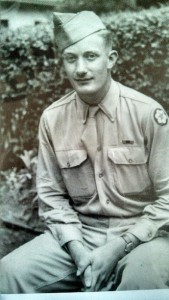 Sgt.George Robert Haney of Winona Lake served in the Army during WWII in the signal core. This photo is from 1946.