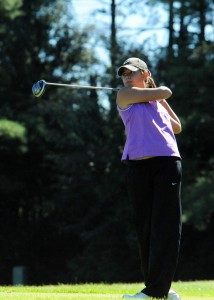 Heidi Morganthaler of NorthWood was the medalist at the Northern Lakes Conference girls golf tournament.
