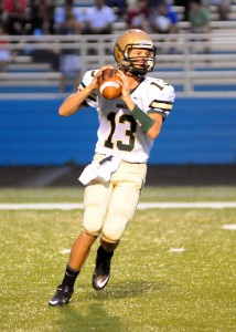 Wawasee quarterback Gage Reinhard will try to help his team snap a three-game losing streak at NorthWood Friday night (File photo by Mike Deak)