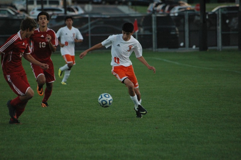 Tito Cuellar, who netted four goals in the sectional championship match, looks to help No. 9 Warsaw claim another regional title. The Tigers play South Bend St. Joseph Thursday in the Mishawaka Regional at Baker Park.