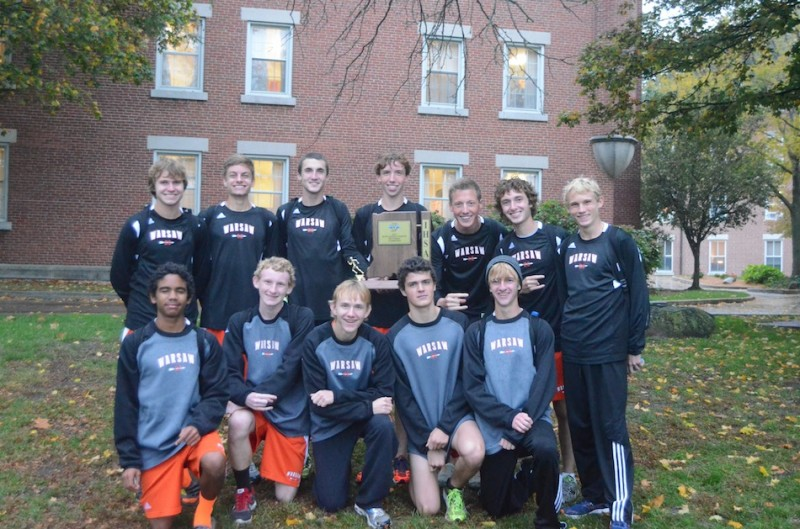The 12th ranked Warsaw boys cross country team dominated the Culver Academies Sectional Tuesday night. Warsaw captured its' third straight sectional title in the process (Photos by Scott Davidson)