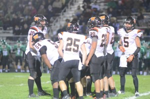 The Warsaw offense was stymied by the host Minutemen Friday night.