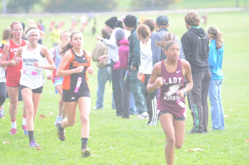 Warsaw sophomore Emma Hayward notched a season best time of 20:38 Saturday in the Culver Academies Regional.