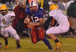 Whitko's Tanner Hughes broke the school's all-time rushing record Friday night against North Miami. (Archived photo by Nick Goralczyk)