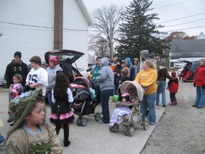 Last year, over 300 children passed through the Syracuse Church of God parking lot during the church's Trunk or Treat on Halloween night. The church will hold its annual Trunk or Treat again on Oct. 31. (Photo provided)
