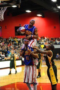 The Harlem Globetrotters will make two appearances in the area in January, first in Fort Wayne on Jan. 2, and again in South Bend on Jan. 25. (File photo by Mike Deak)