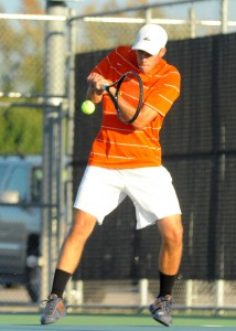 Kyle Wettschurack was dominant at No. 2 singles Tuesday for Warsaw in a regional semifinal victory over Culver Academies.