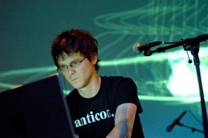 Son Lux performing at Massachusetts Museum of Contemporary Art on Sept. 4, 2009. Photo by Derek Duoba.
