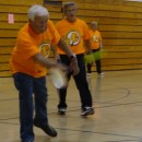 The North Webster Community Center hosted its first pickleball tournament Saturday afternoon. Players are shown during tournament play. (Photo provided)