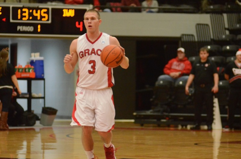 Sophomore guard Logan Irwin, a former standout at Whitko High School, had 11 points Tuesday night in a 61-60 home loss to No. 2 Indiana Wesleyan.